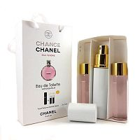 Набор с феромонами Chanel Chance Eau Tendre (3×15 ml)