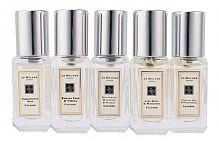 Набор Lux Jo Malone Lime Basil and Mandarin + English Pear and Fresia + Nectarine Blossom and Honey + Pomegranate Noir + English Oak and Redcurrant (5×9ml)