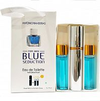 Набор с феромонами Antonio Banderas Blue Seduction (3×15 ml)